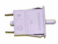 Одинарная кнопка-выключатель света для холодильника Indesit/Ariston/Stinol C00851049. На 2 контакта
