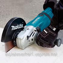 Шлифмашина угловая (болгарка) Makita GA7020 (2200 Вт, диаметр 180 мм), фото 2