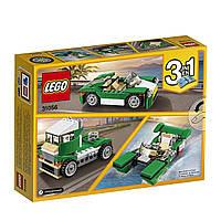 Конструктор LEGO оригинал 3 в 1 зеленый крузер Лего Creator Green Cruiser 31056