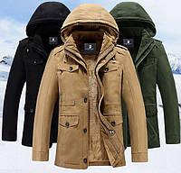Парка мужская,пуховик,куртка зимняя на овчине Jeep .Натуральный пух.