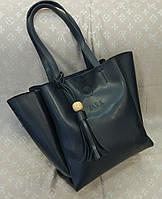 Женская сумка копия Zara качественная эко-кожа черная