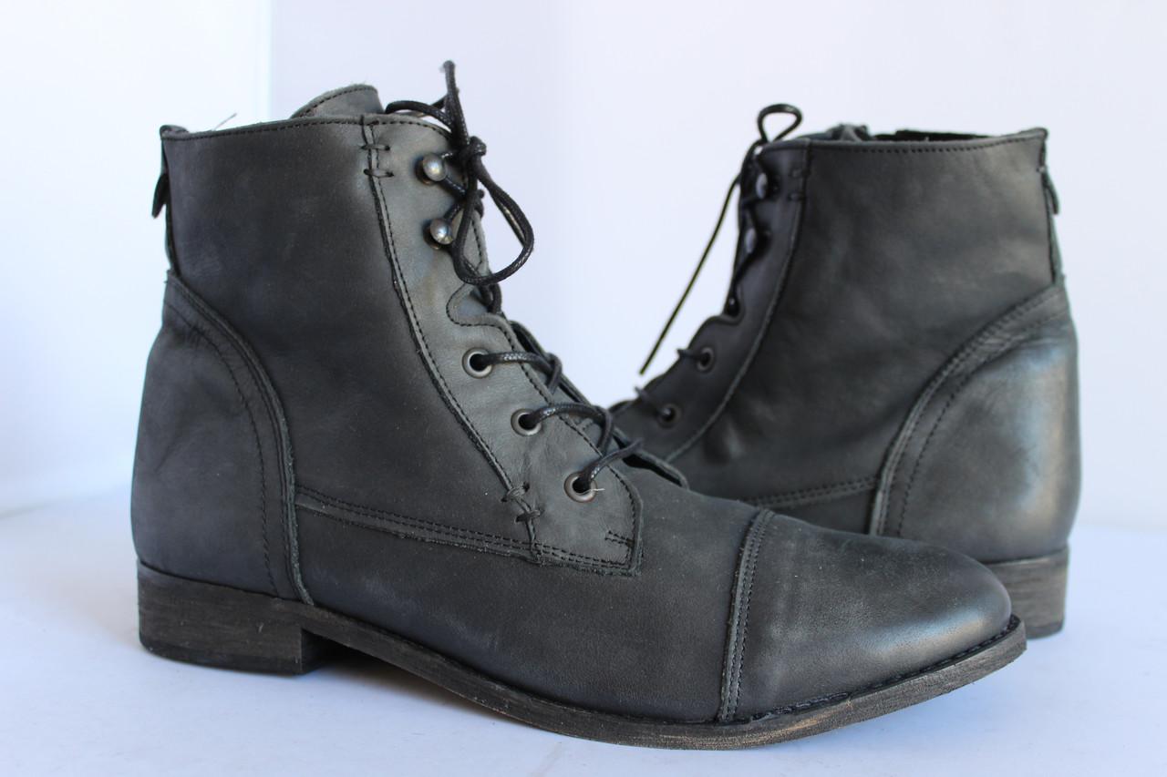 Женские кожаные ботинки Fosco 41р.