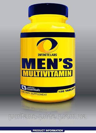 Комплекс витамин минералов для мужчин Infinite Labs Men's Multi 120 Tablets, фото 2