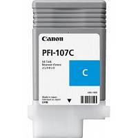 Картридж Canon PFI-107C для iPF670/770, Cyan, 90 мл