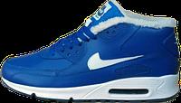 Зимние мужские кроссовки Nike Air Max 90 Blue Winter