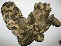 Перчатки – Варежки с откидными пальцами