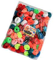 Резинки для волос (120шт) цветные, фото 1