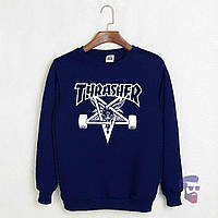 Свитшот стильный Thrasher logo | Кофта трэшер, фото 1