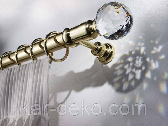 фото Однорядный карниз 1 kar-deko.com