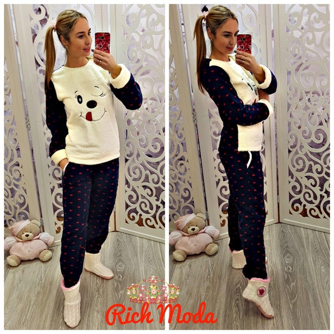96f6b6097e19 Мягкая теплая пижама Т-6001, цена 600 грн., купить в Харькове — Prom ...