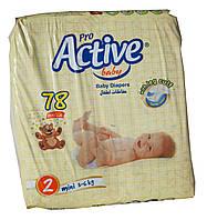 Памперсы Active Pro 2