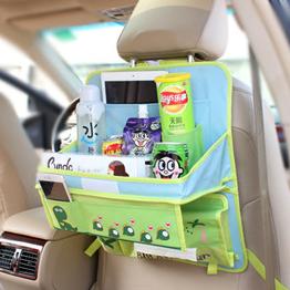 Столик - органайзер в автомобиль Динозавр Голубой (04012)