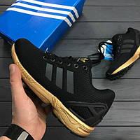 Кроссовки Adidas ZX Flux Черные 36-40 рр.