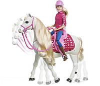 Кукла Барби наездница и интерактивная танцующая лошадь Dreamhorse Barbie FRV36