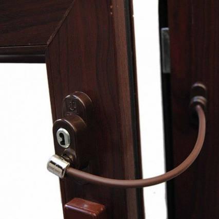 Обмежувач відкривання вікна Penkid коричневий