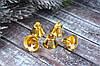 Колокольчики (звоночеки) 2,6 см металлические золотистого цвета