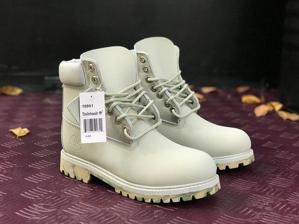 Мужские ботинки Timberland Grey Camo