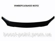 Дефлектор капота (мухобойка) Renault Sandero Stepway (рено сандеро степвей 2013+)