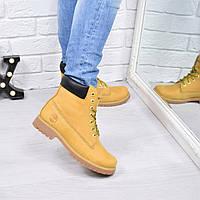 Ботинки женские Timberland КОЖА 3801 только 38 размер, зимняя обувь