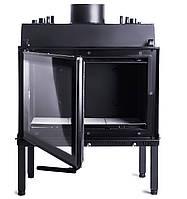 Камин для отопления. Aqva-750 Lux 17кВт СОТ. Монтаж каминных топок/