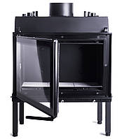 Камин вместо котла на дровах. Жарко Aqva-750 Lux 9кВт. Для закрытых систем. , фото 1