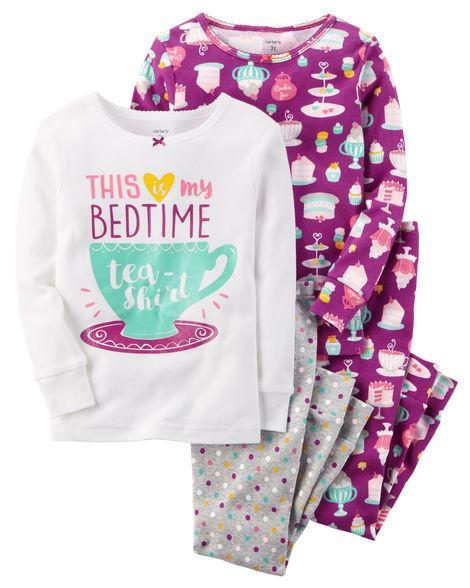 Пижама Carters хлопок Время сна 3Т
