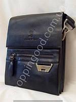 Мужская сумка Bradford 6006-5 черная искусственная кожа