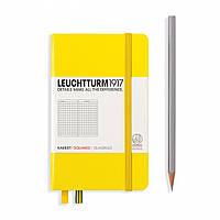 Блокнот Leuchtturm1917 Карманный Лимонный с Чистыми листами (9х15 см) (344797), фото 1