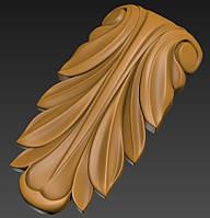 3D моделирование для ЧПУ капитель