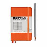 Блокнот Leuchtturm1917 Карманный Оранжевый В точку (9х15 см) (342933), фото 1