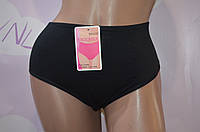 Черные женские трусы из хлопка, нижнее белье