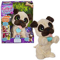 Интерактивный щенок Мопс Furreal Friends JJ My Jumping Pug Pet Plush B0449