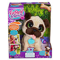 Интерактивный игривый щенок Мопс Furreal Friends JJ My Jumping Pug Pet Plush B0449