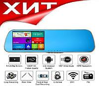 Регистратор-навигатор-зеркало видеорегистратор 5ʹʹ+WiFi+Android+6Гб