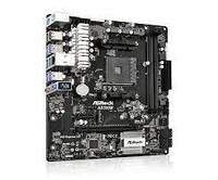 Материнская плата ASRock AB350M sAM4 B350 2xDDR4 M.2 USB3.1 mATX, AB350M