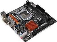 Материнская плата ASRock H110M-ITX s1151 H110 2xDDR4, HDMI-DVI, mITX, H110M-ITX