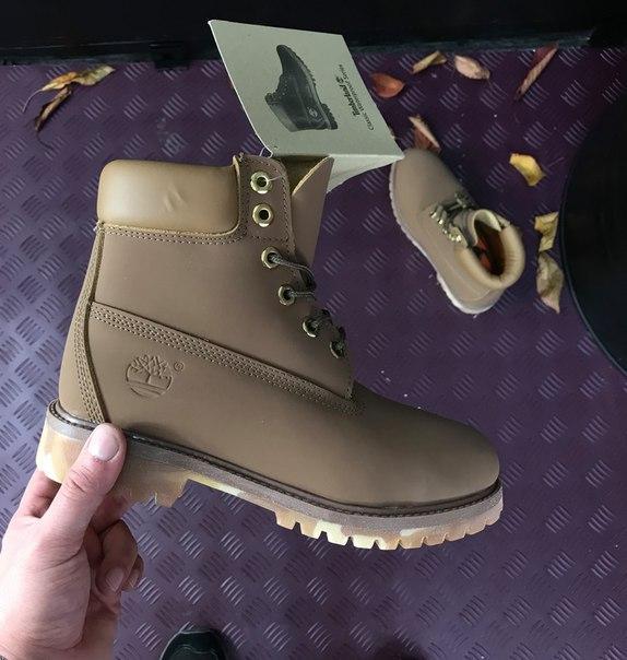 Мужские ботинки Timberland Brown топ реплика