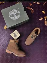 Мужские ботинки Timberland Brown топ реплика, фото 3