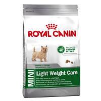 ROYAL CANIN (РОЯЛ КАНИН) MINI LIGHT WEIGHT CARE 2 кг (КОНТРОЛЬ ВЕСА ОТ 10 МЕС.)