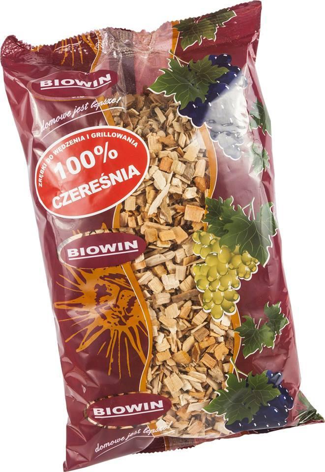 Щепки для копчения и жарки на гриле - 100% черешня BIOWIN Польша