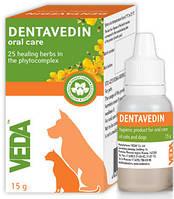 Дентаведин (гель) 15мл,/гигиена рот.полости/17008