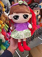Рюкзак детский мягкий с игрушкой Кукла