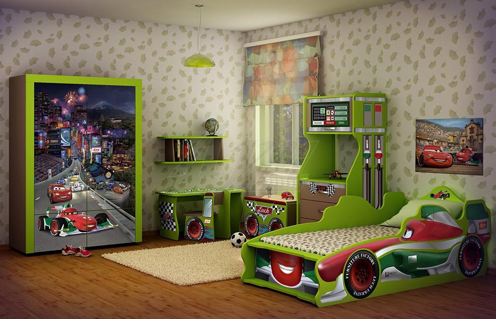Детская комната Тачки-2