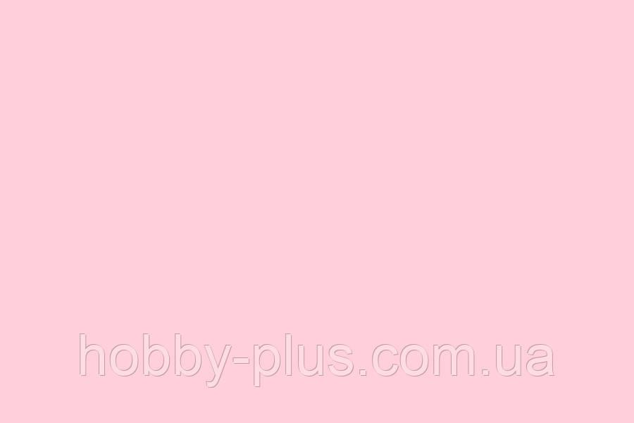 Фетр корейский мягкий, 1.2 мм, 20x30 см, НЕЖНО-РОЗОВЫЙ