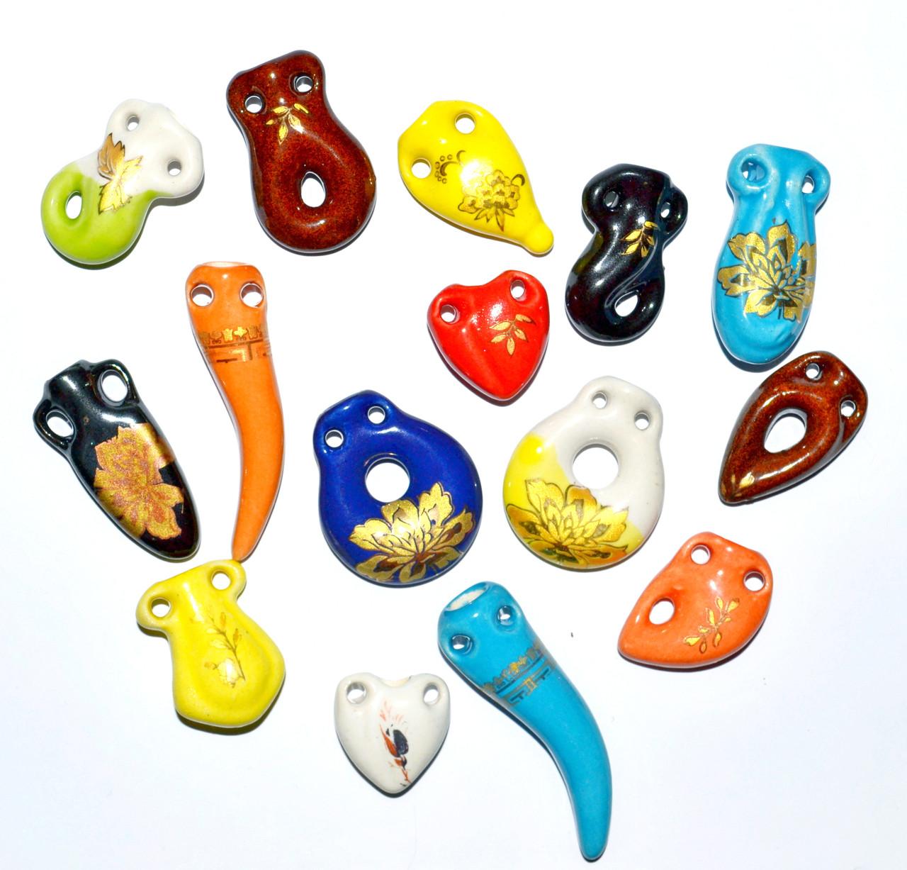 Аромакулон, Аромамедальон,в ассортименте, на шелковом шнурке, керамический