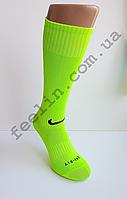 Гетры футбольные Nike салатовые