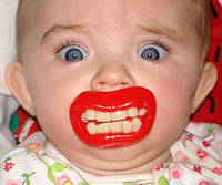 "Пустышка зубы ""Красота)"""