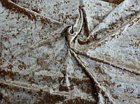 Велюр мрамор стрейчевый (золота)