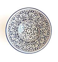 Узбекская посуда глубокая d 15.5 см