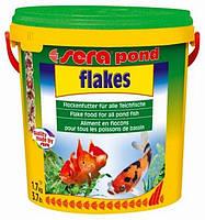 Sera pond bioflakes - корм для всіх ставк. риб. Пластівці 10000 мл